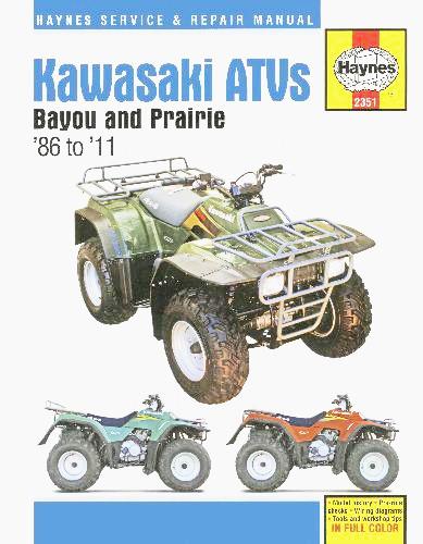 REPARATUR ANLEITUNG KAWASAKI