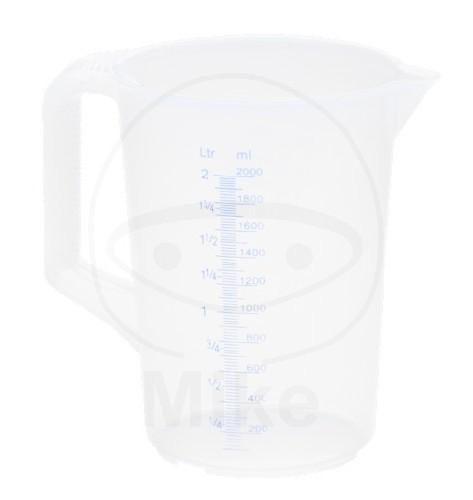 Messbecher Plastik 2L